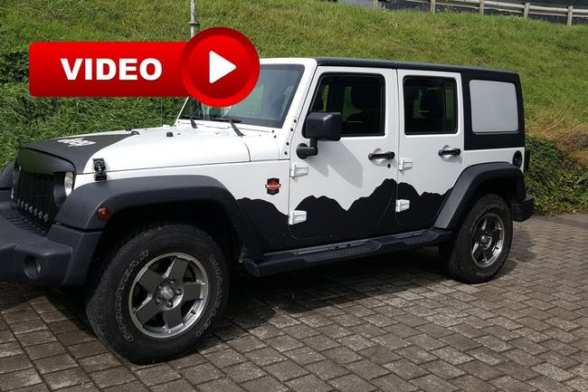 suv Jeep Wrangler 2.8CRD Unlimited Sport Automatic softtop