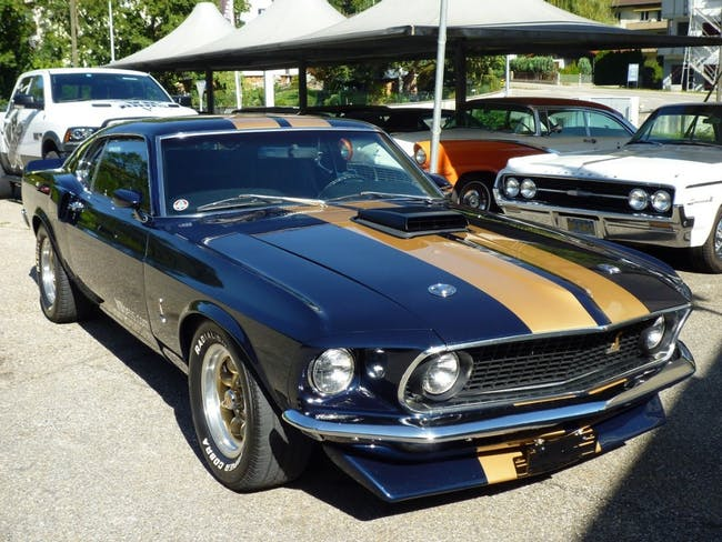 coupe Ford Mustang Mach1