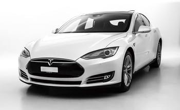 saloon Tesla Model S 90 D Performance