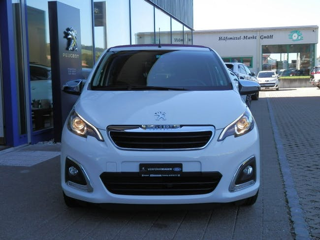 saloon Peugeot 108 1.0 VTi Allure Top ETG