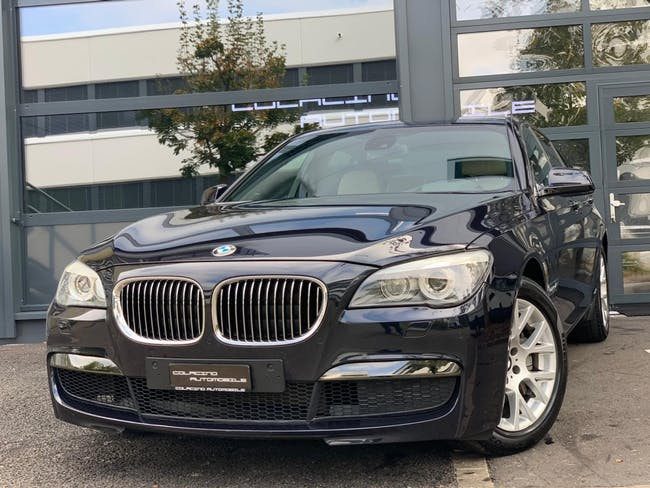 saloon BMW 7er 740d xDrive