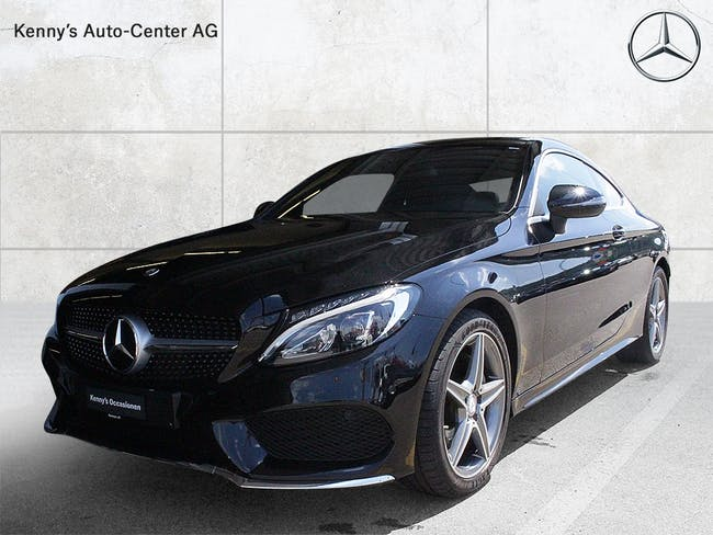 coupe Mercedes-Benz C-Klasse C 180 AMG Line