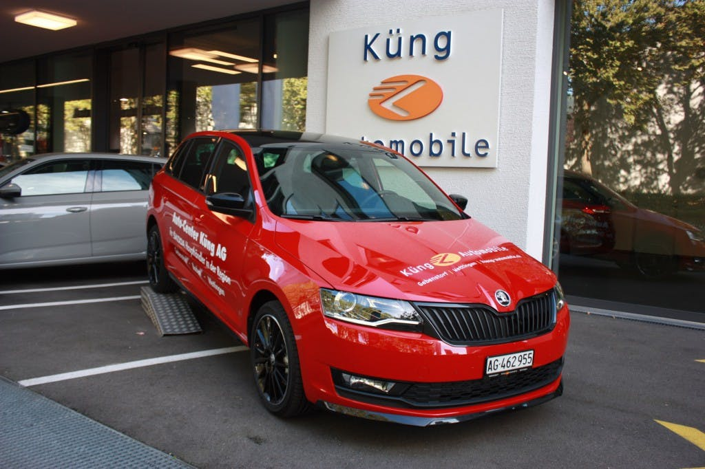 estate Skoda Rapid Spaceback 1.0 TSI Monte Carlo DSG
