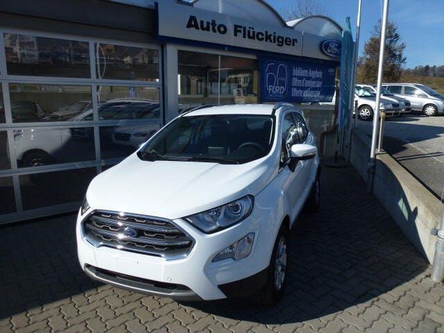 suv Ford EcoSport 1.0SCTi Titanium