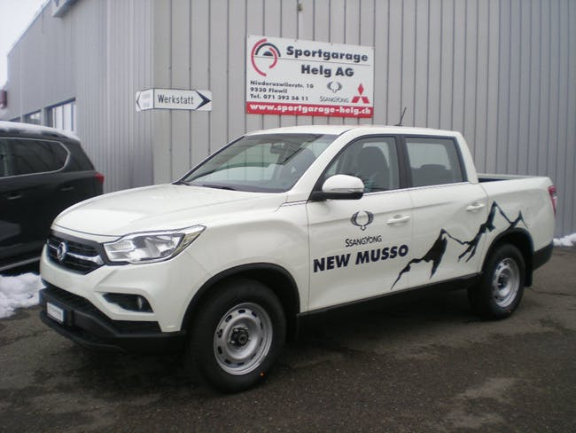 suv SsangYong Musso 2.2 e-XDI Crystal