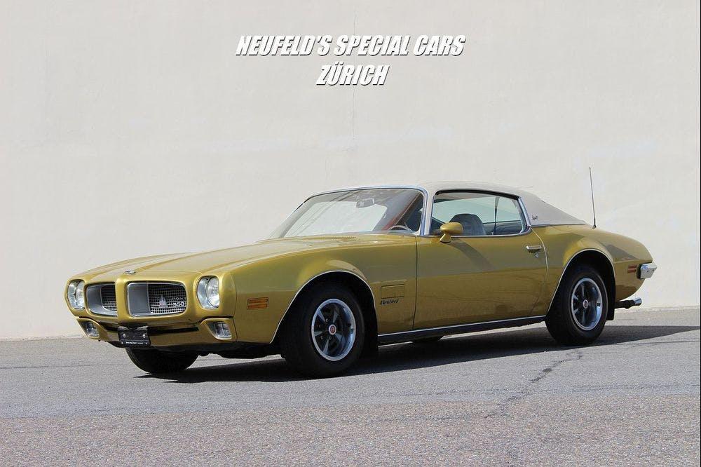 coupe Pontiac Firebird 350