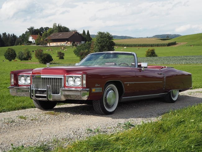 cabriolet Cadillac Eldorado 8.2 V8