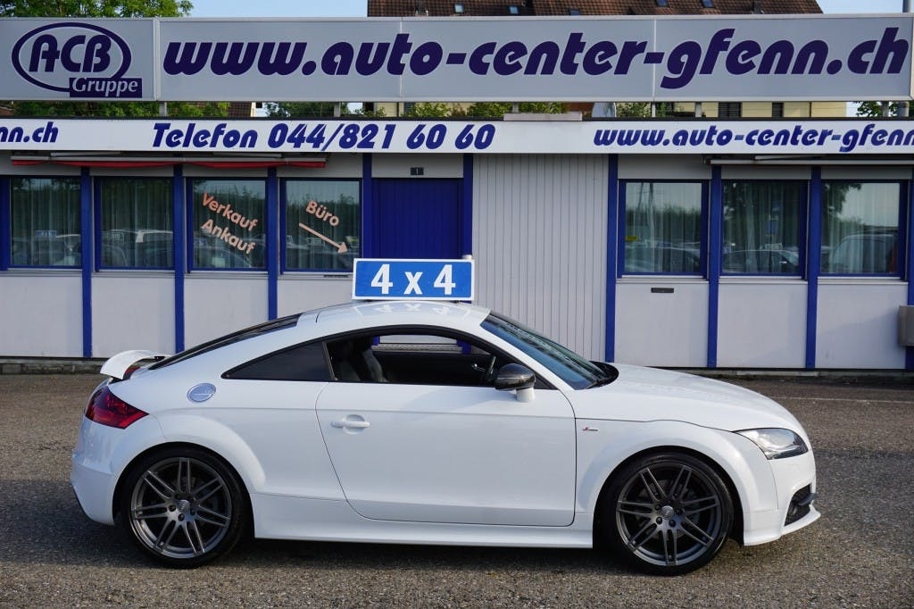 coupe Audi TT Cpé 2.0 TFSI quattro