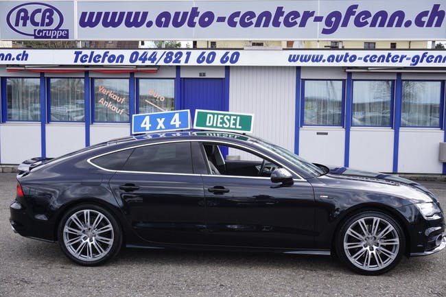 saloon Audi A7 Sportb. 3.0 TDI quatt