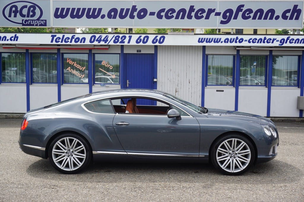 coupe Bentley Continental GT 6.0 W12