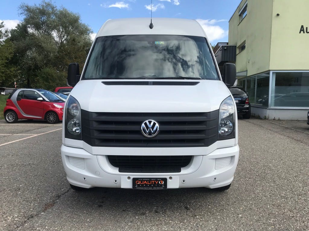 pickup VW Crafter 35 2.0 BiTDI CR