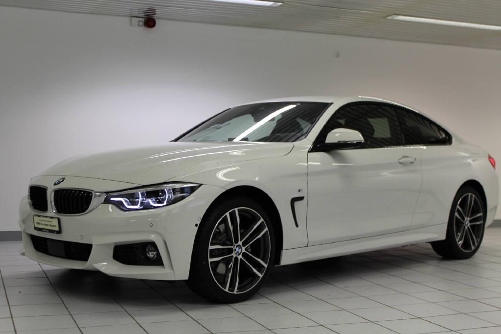 coupe BMW 4er 420d xDrive SAG