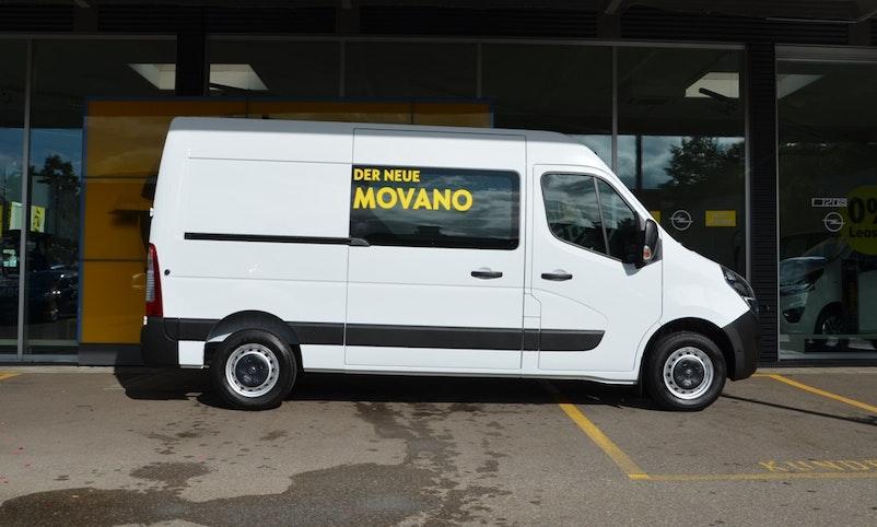 Opel Movano Kaw. 3.5 t L2 H2 2.3 TD 150 S/S 990 km 36'876 CHF - acheter sur carforyou.ch - 1