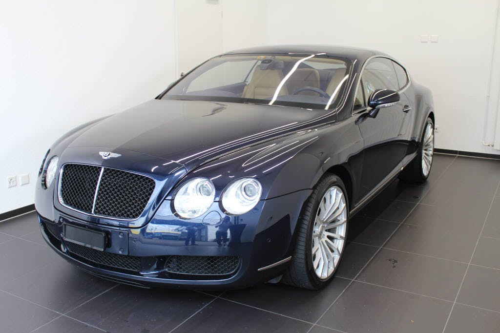coupe Bentley Continental 6.0 V12