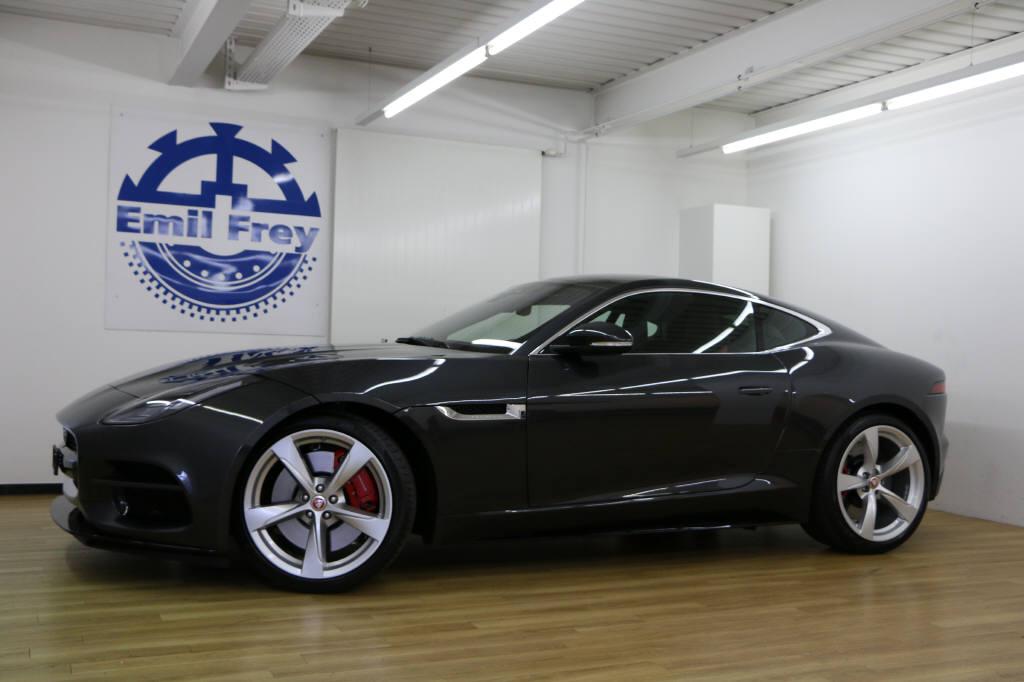 coupe Jaguar F-Type 5.0 V8 R AWD