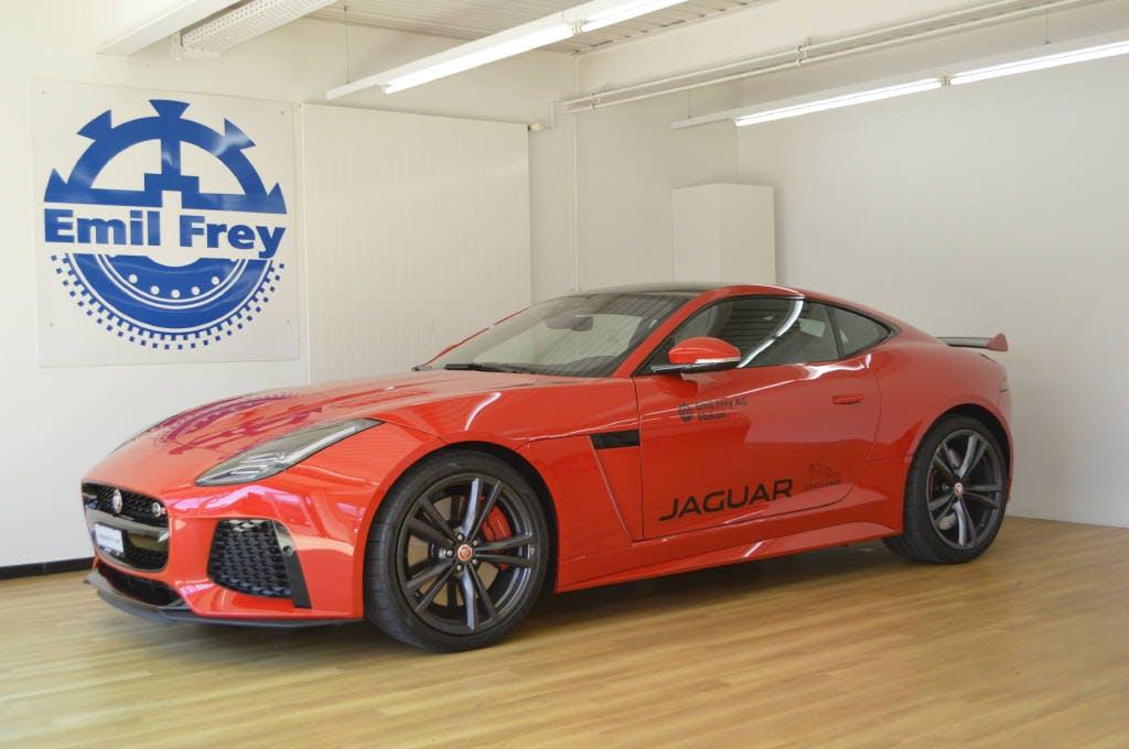 coupe Jaguar F-Type 5.0 V8 SVR AWD