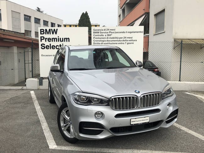 saloon BMW X5 M50d