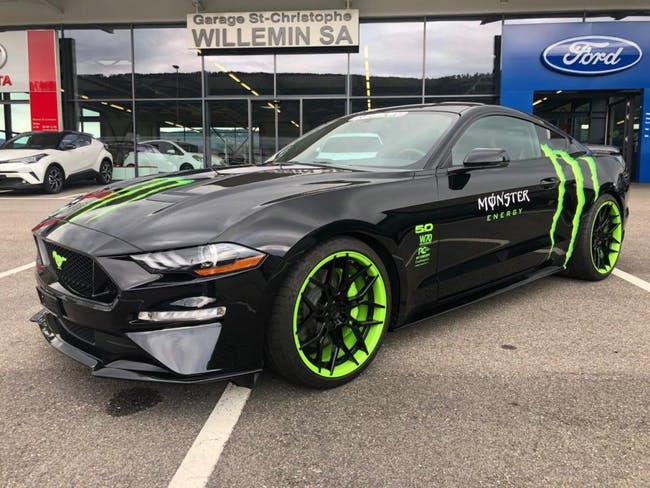 coupe Ford Mustang Monster Energy Official Project