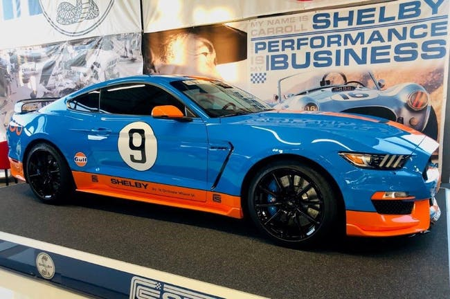coupe Ford Mustang Shelby GT 350 Gulf Heritage