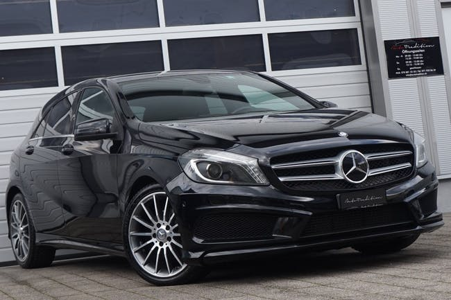 saloon Mercedes-Benz A-Klasse A 180 AMG Line 7G-DCT