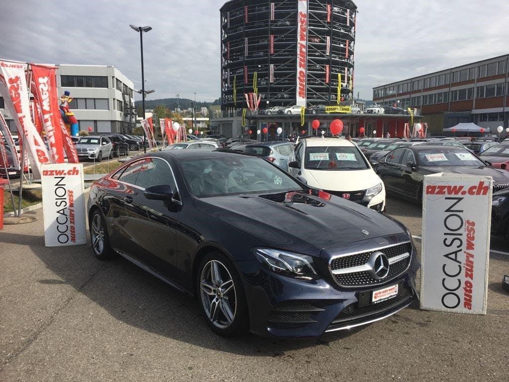 cabriolet Mercedes-Benz E-Klasse E 200 Coupé AMG Line 9G-Tronic