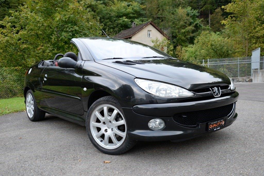 cabriolet Peugeot 206 CC 2.0 16V Exclusive Edition