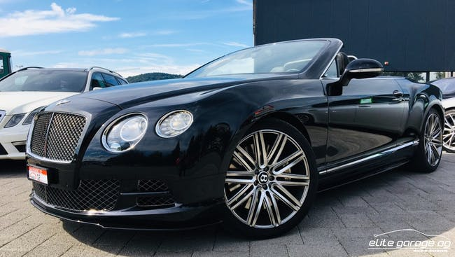 cabriolet Bentley Continental GTC Speed 6.0 W12