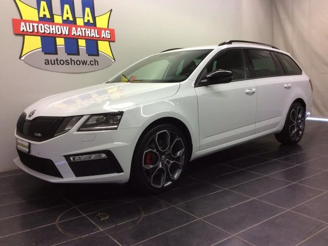 estate Skoda Octavia Combi 2.0TDI RS 4x4