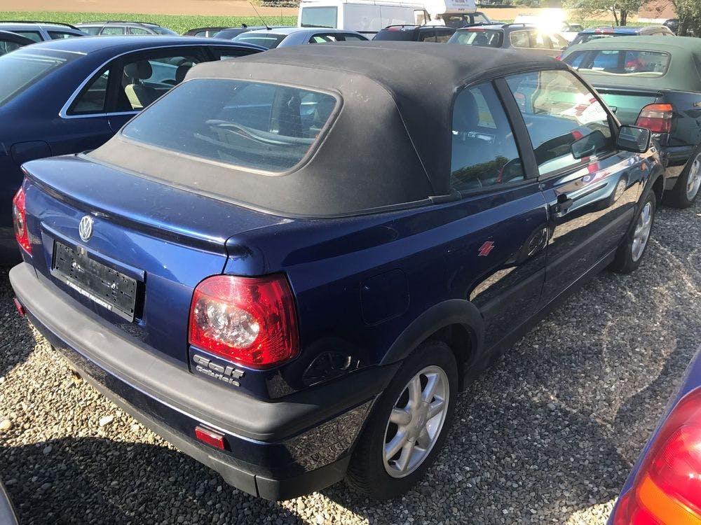 cabriolet VW Golf Cabriolet 2000 Avantgarde