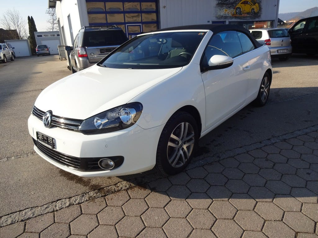 cabriolet VW Golf Cabrio 1.2 TSI BlueMotion Technology
