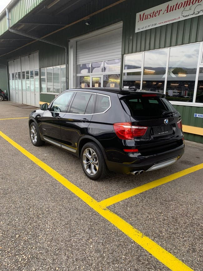 suv BMW X3 xDrive 30d xLine Steptronic 258 PS