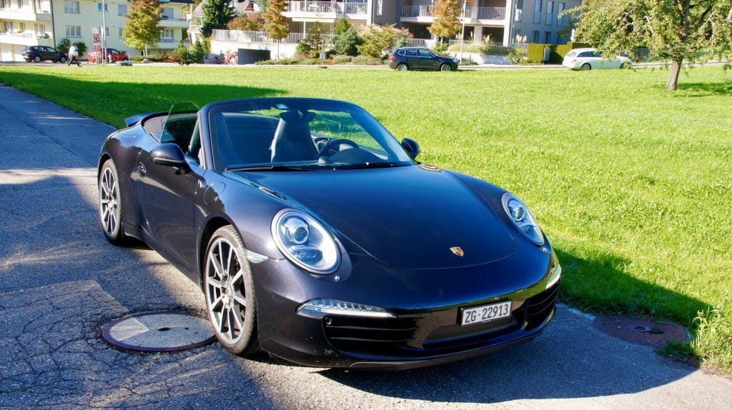 cabriolet Porsche 911 Cabrio Carrera PDK