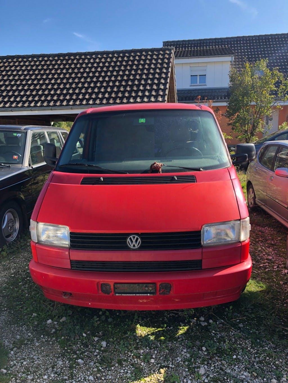 bus VW T4 Multivan 2.4D
