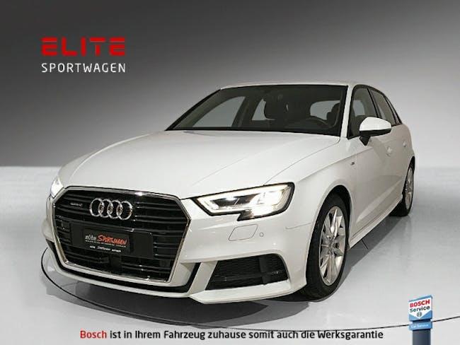 saloon Audi A3 2.0 TDI Sport qu. S line Exterieurpaket