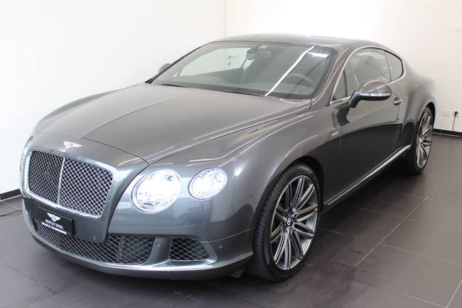 coupe Bentley Continental 6.0 V12 Speed
