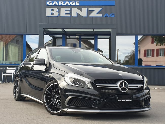 saloon Mercedes-Benz A-Klasse A 45 AMG 4Matic Speedshift 7G-DCT