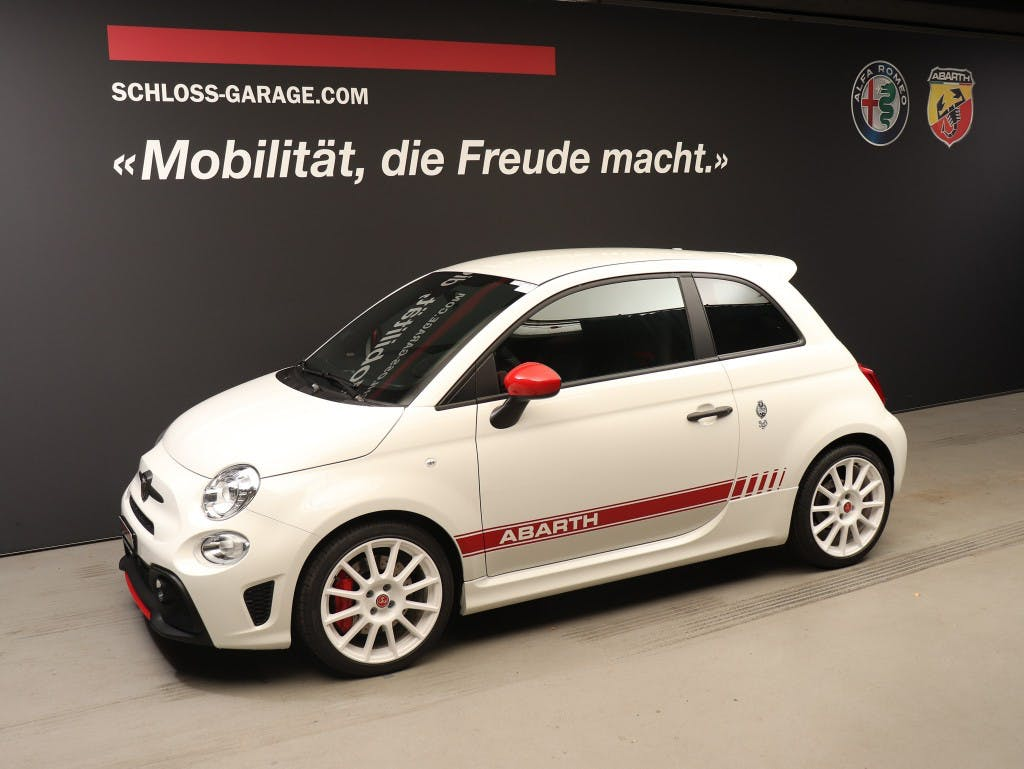 saloon Fiat 500 Abarth 595 1.4 180 MTA Esseesse
