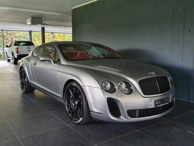 coupe Bentley Continental Supersports 6.0