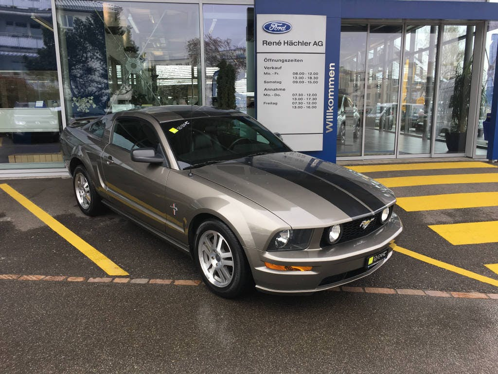 coupe Ford Mustang GT 4.6L Coupé Premium