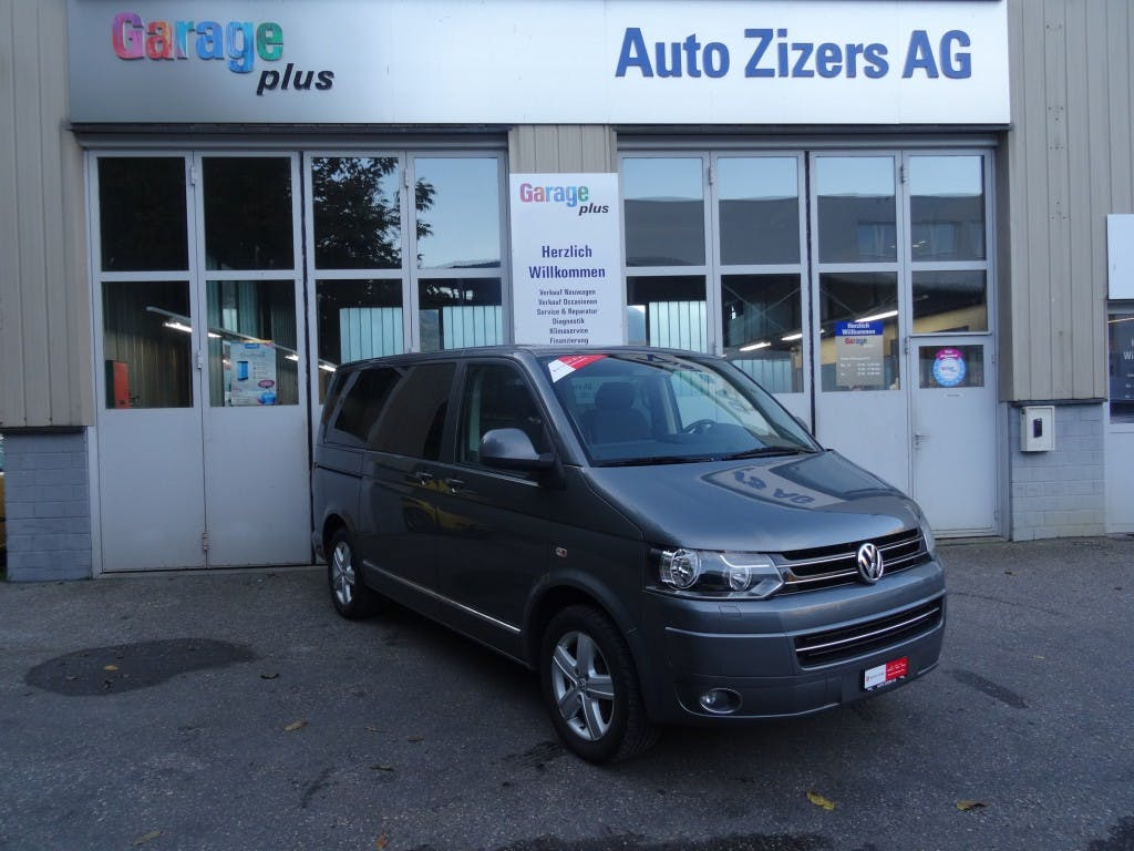 bus VW T5 Multivan 2.0 Bi-TDI CR Comfortline 4Motion DSG