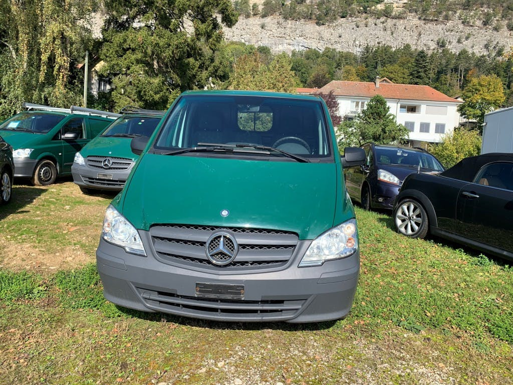 pickup Mercedes-Benz Vito 113 CDI Blue Efficiency L