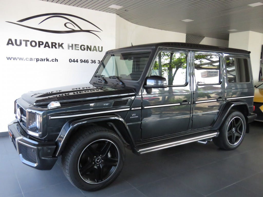 suv Mercedes-Benz G-Klasse G 63 AMG Automatic