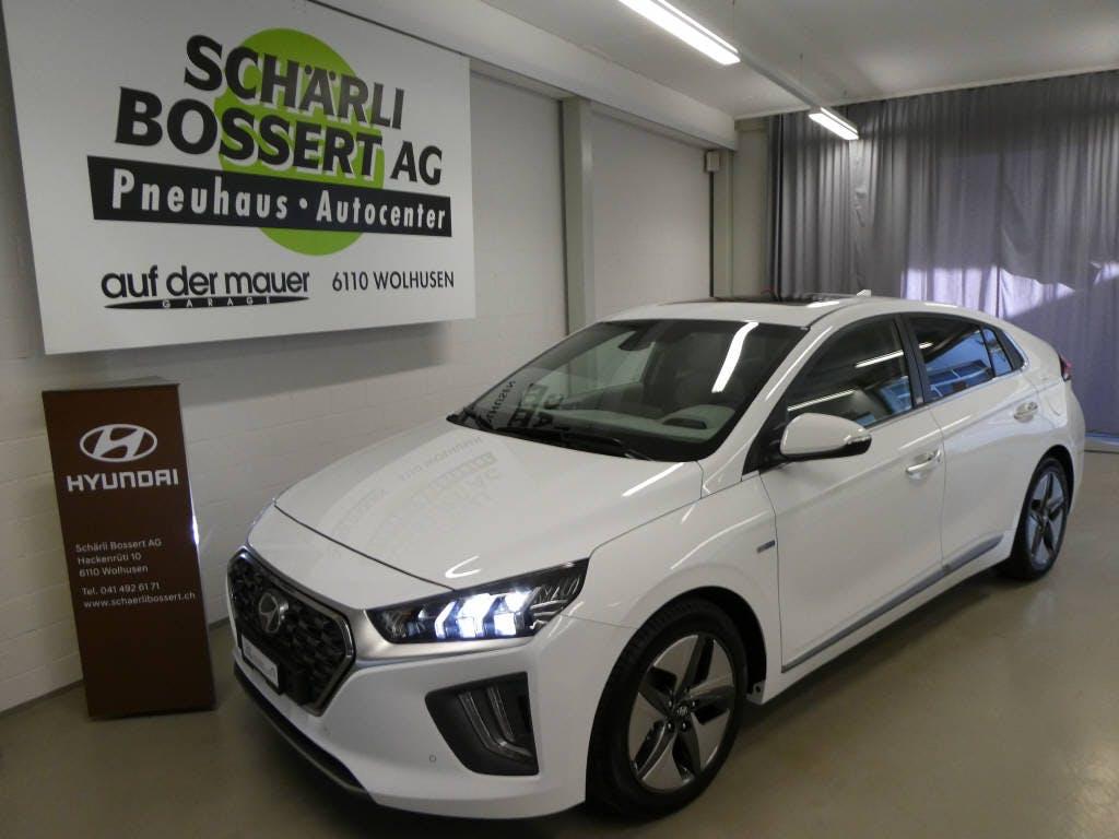saloon Hyundai Ioniq 1.6 GDi Vertex Hybrid HEV