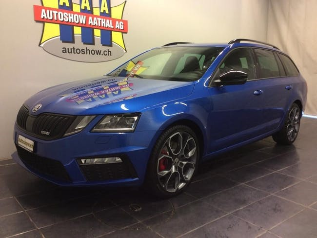 estate Skoda Octavia Combi RS 2.0 TDI Black Design