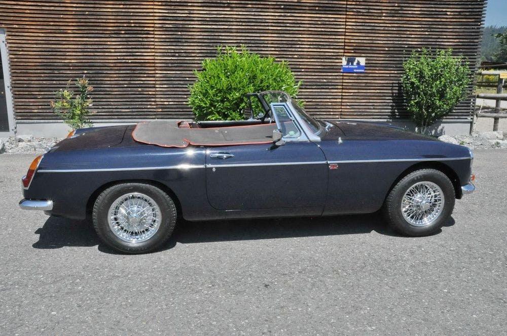 cabriolet MG MGB B Cabriolet