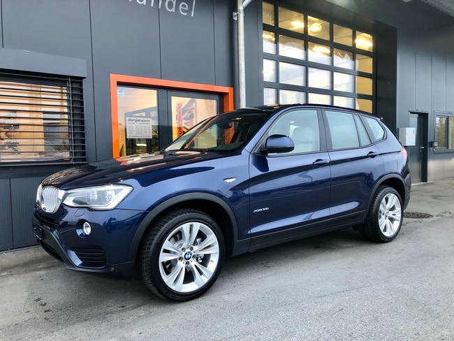 suv BMW X3 xDrive 35i Steptronic