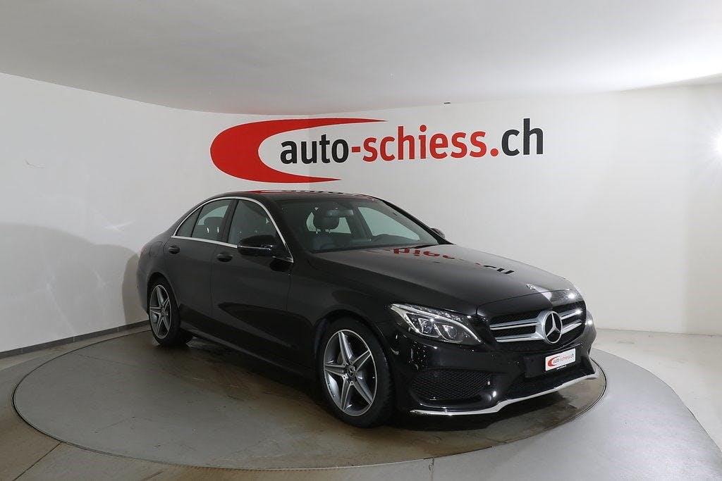 saloon Mercedes-Benz C-Klasse C 220 d AMG Line