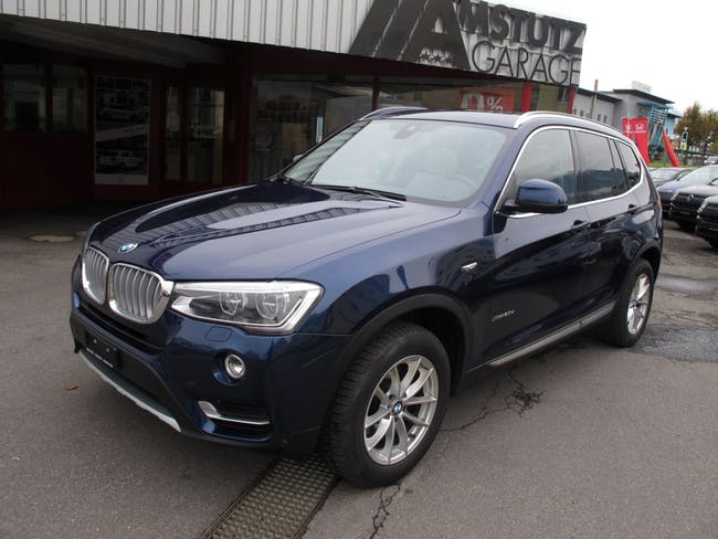 suv BMW X3 xDrive 20d xLine Steptronic