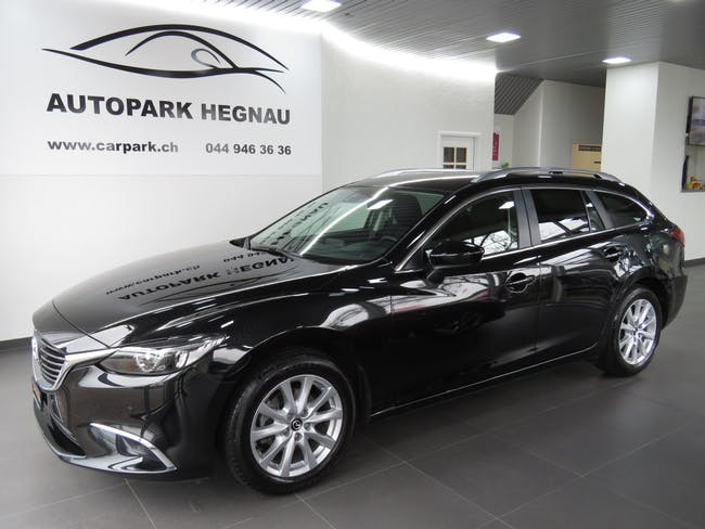 estate Mazda 6 Sportwagon 2.0 16V HP Ambition Automatic