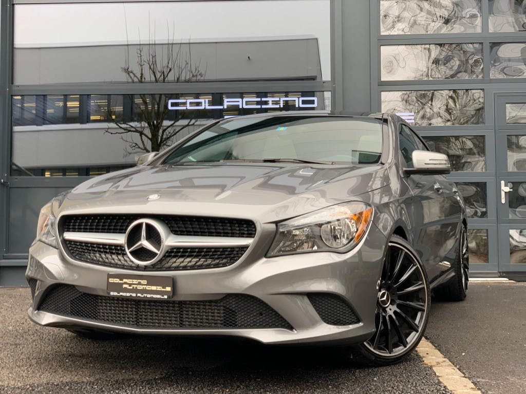saloon Mercedes-Benz CLA-Klasse CLA 250 7G-DCT